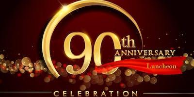 Church of Jesus Christ, Inc.  90th Anniversary Luncheon