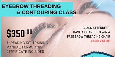 Eyebrow Threading and Contouring Class
