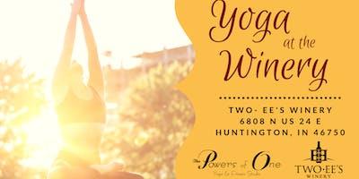 Yoga at the Winery - May 2019