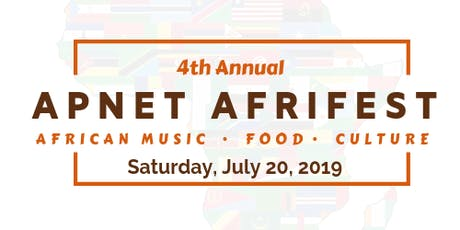 2019 APNET AFRIFEST - African Food.Music.Culture tickets