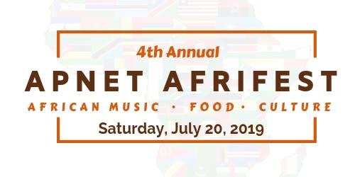 2019 APNET AFRIFEST - African Food.Music.Culture