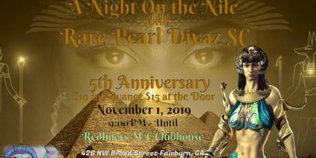 Rare Pearl Divaz S/C 5th Anniversary Party tickets
