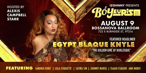 BOYeurism! AUGUST 9TH! @ Bossanova Ballroom