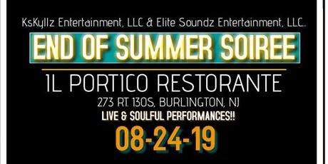 END OF SUMMER SOIREE tickets