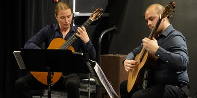 (Richmond) House Concert with Wine, featuring the Tangeando Guitar Duo