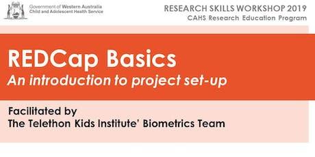 CAHS REDCap Basics Workshop - 14 August tickets