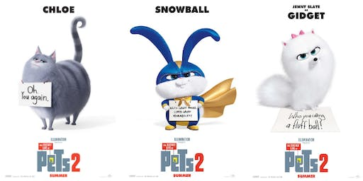 Secret Life Of Pets 2 - Impound Feline Rescue Fundraiser