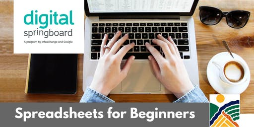 Spreadsheets for Beginners @ Freeling Library (Jul 2019)