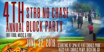 STR8 NO CHASE 4th Annual Block Party