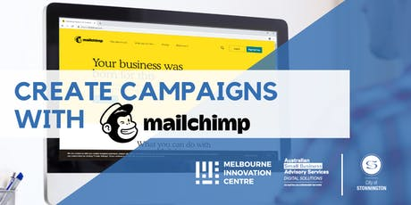Create Marketing Campaigns with Mailchimp - Stonnington tickets