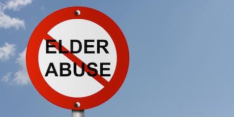 Elder Abuse Information Session tickets
