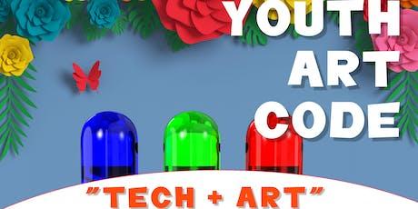 YouthArtCode: Tech + Art - Summer 2019 tickets