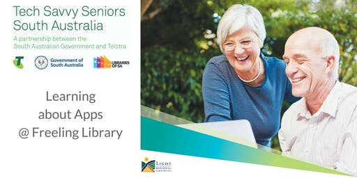 Learning about Apps @ Freeling Library (Jul 2019)
