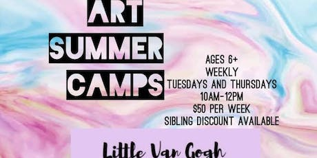 Art Summer Camps tickets