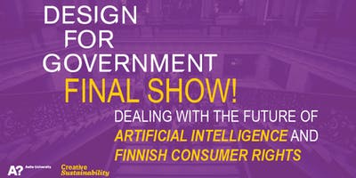 Design for Government 2019 Final Show