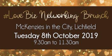 Lichfield #LoveBiz Networking Brunch Event tickets