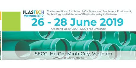 WELCOME TO PLASTECH VIETNAM EXPO 2019 tickets