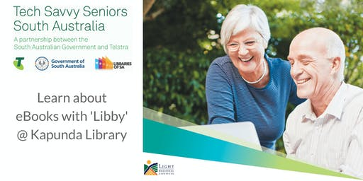 Learn about eBooks with the Libby App @ Kapunda Library (Jul 2019)