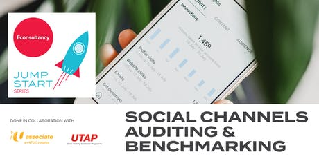 Jumpstart Series: Econsultancy's Social Channels Auditing & Benchmarking tickets
