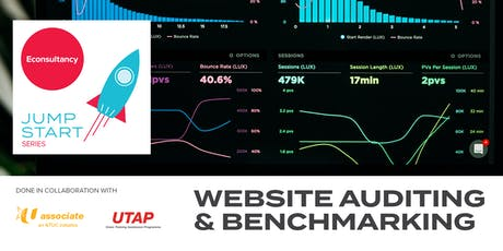 Jumpstart Series: Econsultancy's Website Auditing & Benchmarking tickets