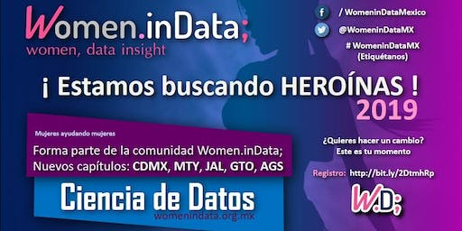 JUNIO: Meetup Women.inData CDMX