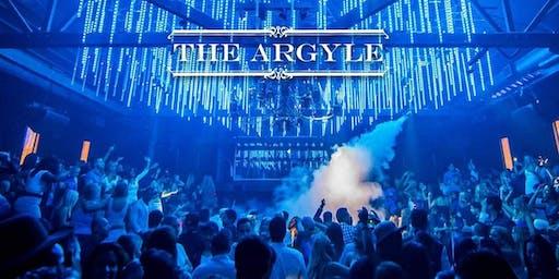 GIRLS' NIGHT OUT AT ARGYLE NIGHTCLUB