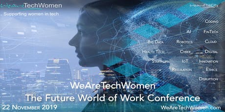 WeAreTechWomen Conference tickets