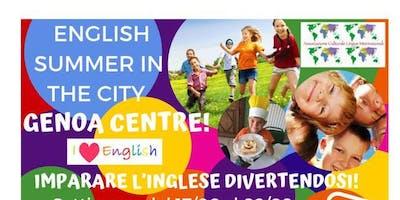 English Summer Camp in centro a Genova