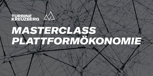 Masterclass: Plattformökonomie Vol. 2