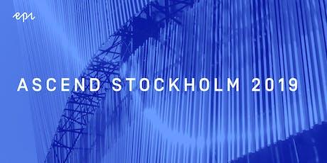 Ascend Stockholm 2019 tickets