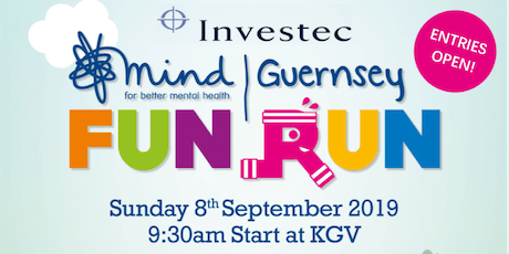 Investec Guernsey Mind 10km Fun Run 2019 tickets