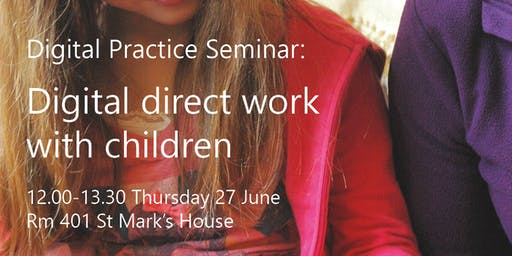 Digital direct work with children