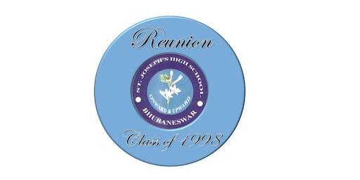 Class of 1998 Reunion: St. Joseph High School, Bhubaneswar