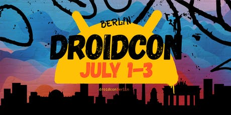 droidcon Berlin 2019 tickets