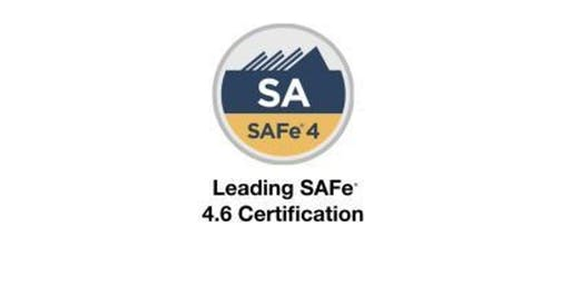 Leading SAFe 4.6 with SA Certification Training in San Jose, CA on July 20 - 21st(Weekend) 2019