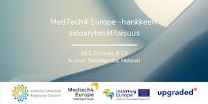 MedTech4 Europe -hankkeen sidosryhmätilaisuus