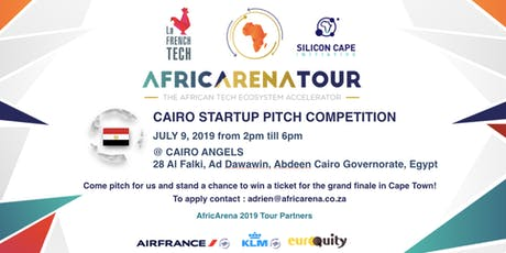 Cairo Startup Pitch Event - AfricArena Tour 2019 tickets