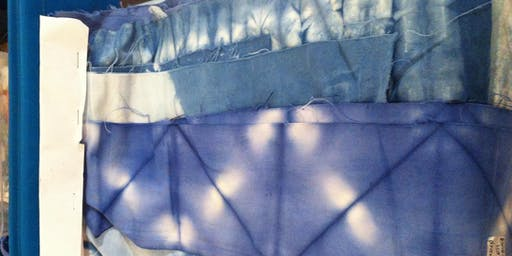 Shibori and Indigo Dyeing Workshop