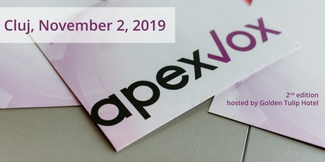 ApexVox - Your .NET conference in Romania tickets