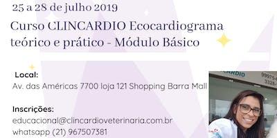 Curso CLINCARDIO de Ecocardiografia Veterinária - Mòdulo Básico