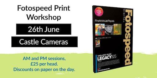 Fotospeed Print Workshop