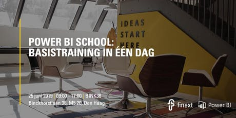 Power BI School | Basistraining in één dag! tickets