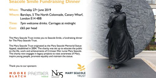 Mary Seacole Smile Fundraising Dinner