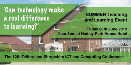 'Can technology make a real difference to learning?' tickets