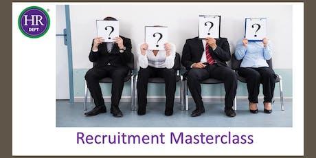 Recruitment Masterclass tickets