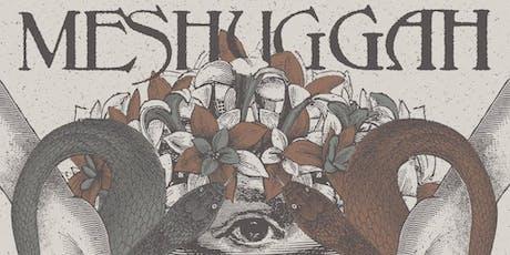 ArcTanGent Meshuggah Poster tickets