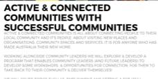 Active & Connected Communities: Volunteering & the benefits of volunteering 13/8