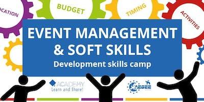 Event Management & Soft Skills - Development skills camp
