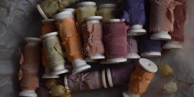 A Workshop in Natural Dyeing and Flower Arranging