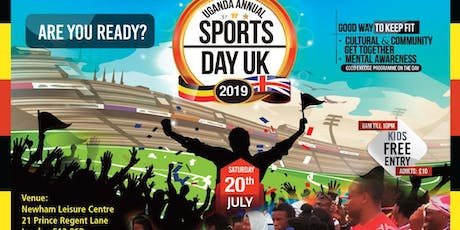Uganda Annual Sports Day Uk 2019 tickets